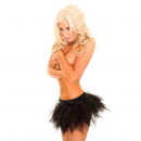 Black Mini Tulle Tutu